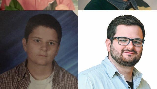 Watch Mike Davis' progression over time from optimistic kindergartner to snarky Jersey transportation reporter.