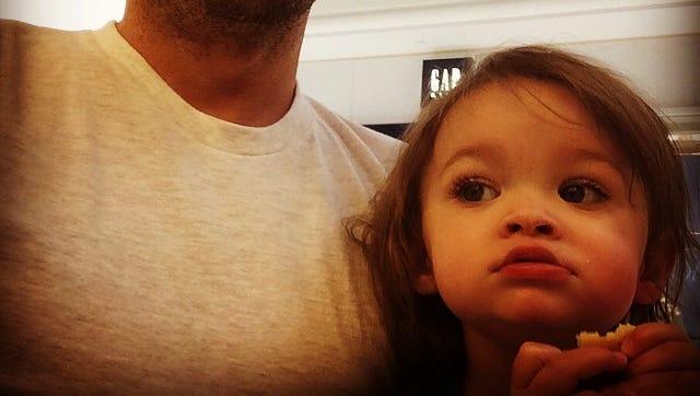 Brian Austin Green with son Noah.