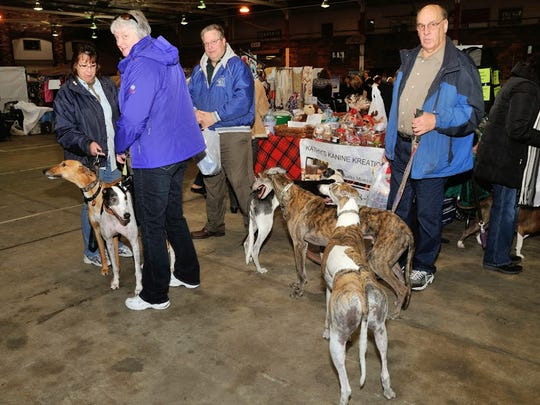 Crafts and pet products geared specifically for greyhounds and their owners will be sold at the 18th annual Craft Show and Pet Expo at the Westfield Armory on Nov. 15 and 16. The annual event, sponsored by Greyhound Friends of New Jersey, includes panel discussions and lectures on different aspects of raising greyhounds after they have retired from racing.