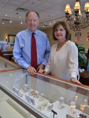 With a grandchild on the way, retirement is looking good to Jim and Leigh Russell, owners of Stein Jewelry store in Madison. The exact date for closing the store, located at 1896 Main Street, is yet to be determined.