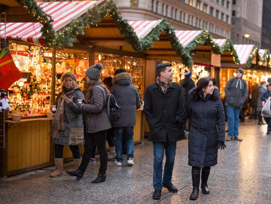 Christkindlmarket in Chicago.