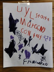 Encouraging artwork from Cross Plains second-graders