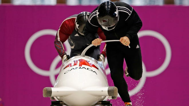 """""""It's part of our sport. If you ain't cheating, you ain't racing,"""" said Canadian bobsled pilot Lyndon Rush."""