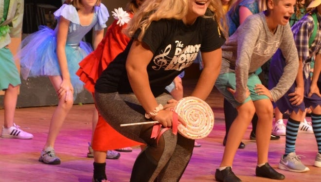 """Cast member for the """"Wizard of Oz"""" rehearse. The Port Huron Civic Theatre production opens Friday at the McMorran Place Theater."""