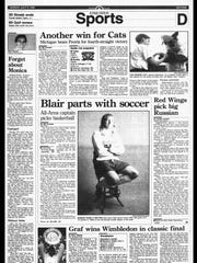 This week in BC Sports History - July 9, 1995