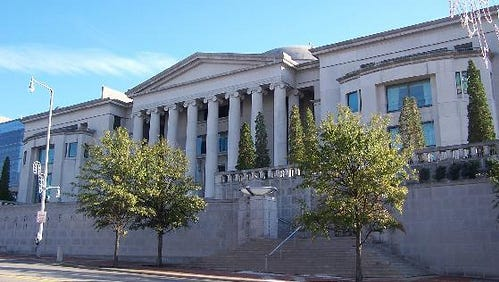 The Alabama Supreme Court heard arguments Wednesday in a case involving video recording at a November 2019 PSC meeting.