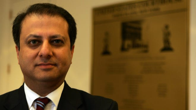U.S. Attorney Preet Bharara wants Westchester to take action to get New Castle to approve Chappaqua Station apartments.