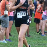 Senior Lexa Barrott set a new Northville standard on the Cass Benton Park 5K course in 18:20.