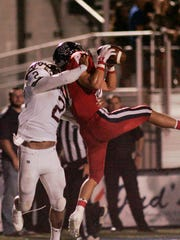 Teurlings Catholic receiver Holland Griffin makes a