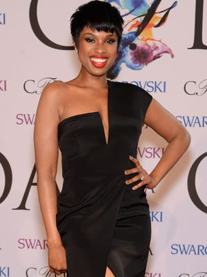 Jennifer Hudson is all smiles at the 2014 CFDA fashion awards on June 2, 2014, at Lincoln Center in New York City.