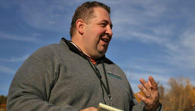 Giants beat writer Art Stapleton.