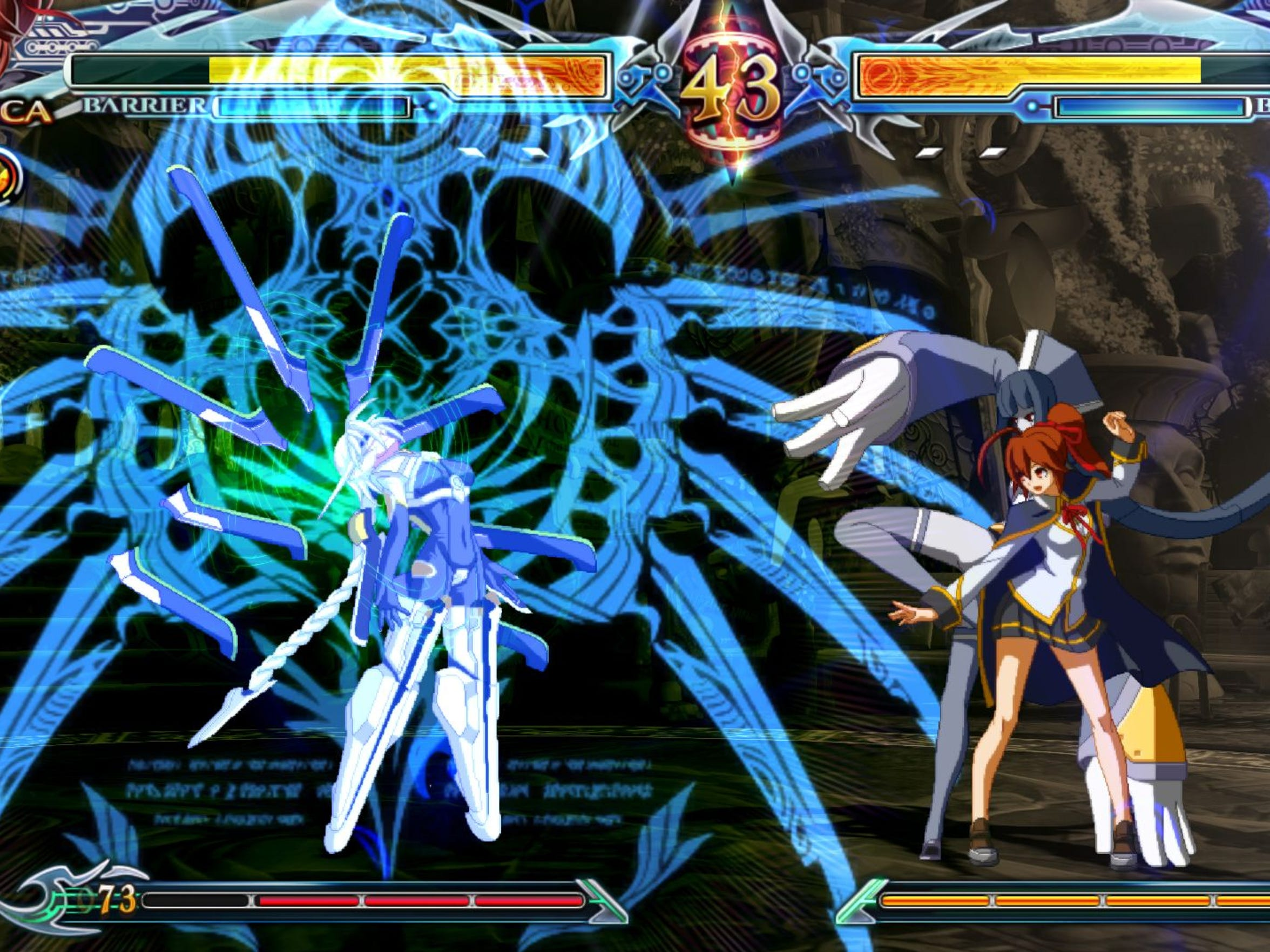 Celica A. Mercury is one of the new additions to BlazBlue: