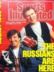 Sergei Starikov appeared on the cover of an October 1989 issue of Sports Illustrated as the poster boy for the NHL's first wave of Russian players.