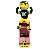 New Herky bobblehead showcases Kinnick Stadium's pink locker room