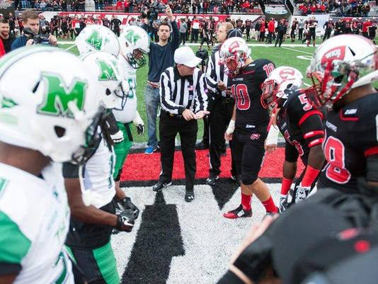 NCAA Football: Marshall at Western Kentucky