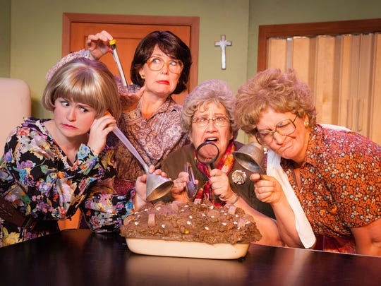 """Oh, for heaven's sake, the Church Basement Ladies are back in """"The Last (Potluck) Supper.''"""