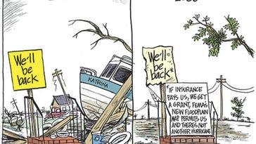 Hurricane Katrina: Marshall Ramsey cartoons | Gallery