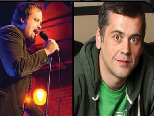 Laugh out loud with Eric Alexander Moore and Ray McMillin Sept 10 at Shotski's Woodfired Pizza.