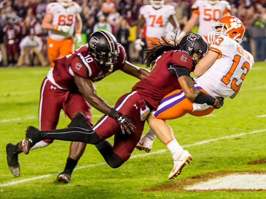 NCAA Football: Clemson at South Carolina