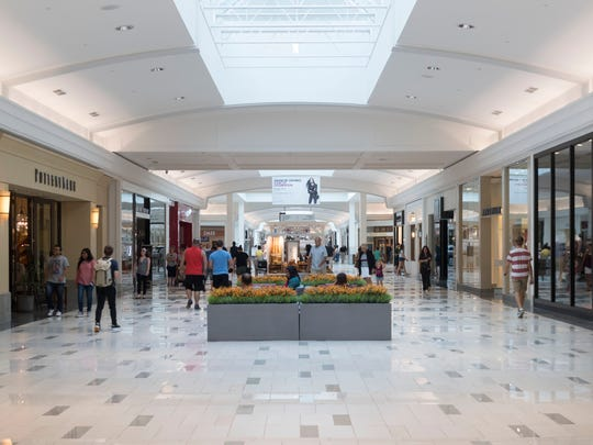 West Town Mall underwent 10 months of renovations which include a new entrance, food court, and new tiles.