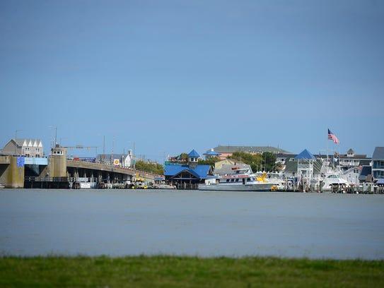 The Rt. 50 bridge entering Ocean City, Md.In June of