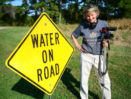 Judy Rolfe, Tidewater assistant producer and filmmaker,