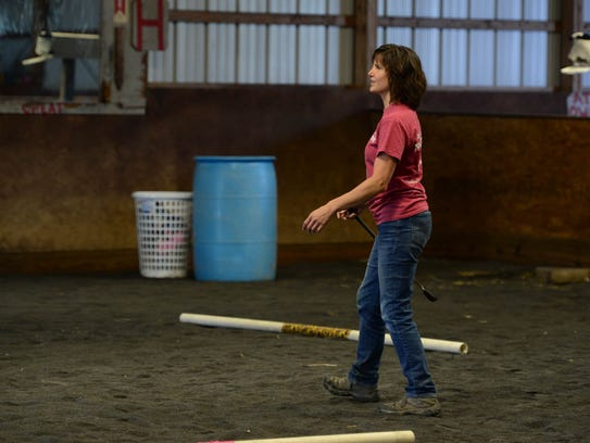 Kelly Boyer, PATH Certified Instructor, leads one of