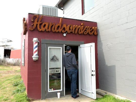 Stephen Mason's The Handsomizer barbershop is open