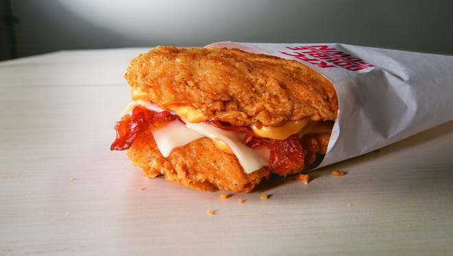 Starting April 21, KFC is bringing back the Double Down for a limited time.
