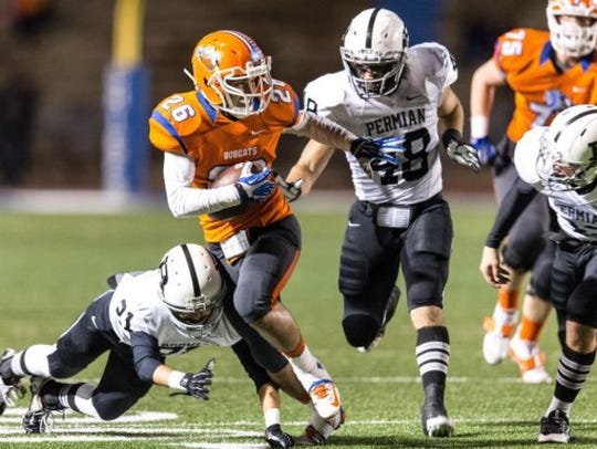 Central and Permian's last clash at San Angelo Stadium