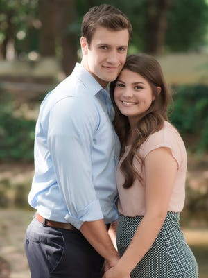 """Bringing Up Bates"" Bobby Smith and Tori Bates pose together for a photo in Knoxville."