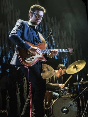 Milwaukee folk rock group Field Report opened for Bon Iver at a sold-out BMO Harris Bradley Center Saturday.