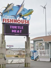 Lewes Fishhouse sells snapping turtle meat along with