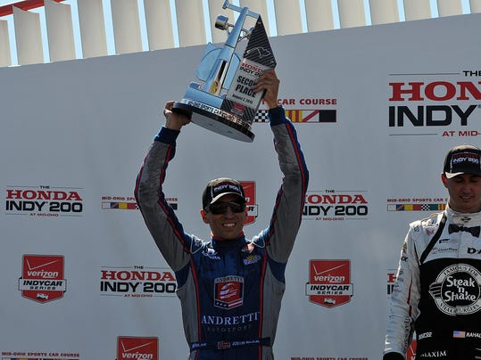 Sports: IndyCar 200 at Mid-Ohio