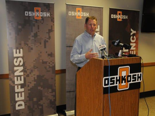 -OSH Oshkosh Corp Layoffs 041014 JS.jpg_20140410.jpg