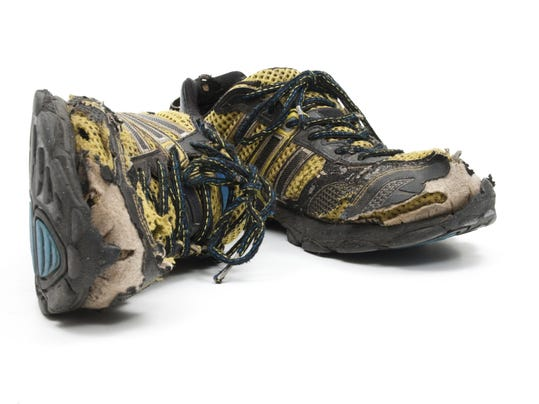 Thinkstockphotos 153203263 Worn Out Running Shoes