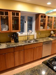 Drochak's kitchen as it is now.