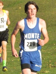 Montezuma's Paden Maschmann placed third in 18:20 to lead the Braves to a third-place team finish at the SICL cross country championships in Sigourney.