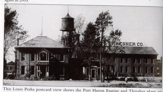 Port Huron Engine and Thresher Co. plant on 24th Street.