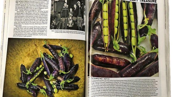 The Baker Creek Heirloom Seed catalog.