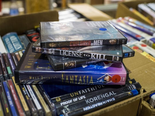 Movies are just one thing you can find at the semi-annual Friends of the Lafayette Library Book Sale.