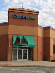 The exterior of the Westchester Pavilion in White Plains,