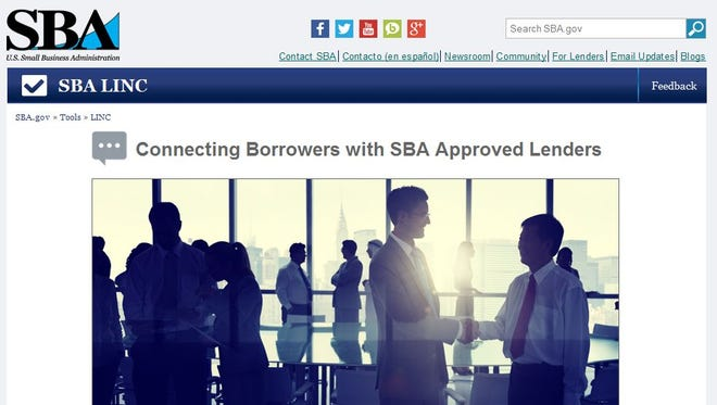 SBA's Leveraging Information and Networks to Access Capital (LINC) tool.
