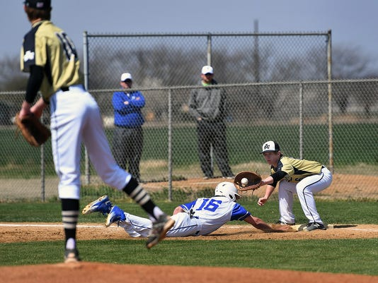 Archer City at Windthorst Baseball 1