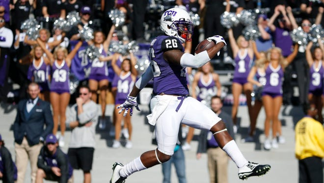 TCU was left out of the College Football Playoff.