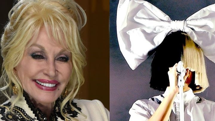 Dolly teams up with Sia; Ballerini to coach on 'The Voice'; 'Designing Women' gets sequel