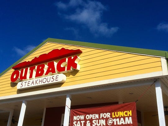 The Outback Steakhouse, Carrabba's, Bonefish Grill