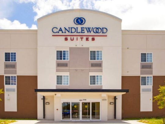An 81-room Candlewood Suites is planned for the southeast corner of I-40 and Whitten.