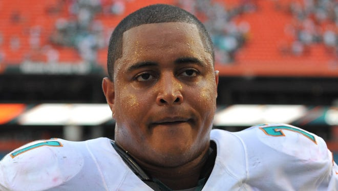 Miami Dolphins tackle Jonathan Martin left the team last week and hasn't returned.