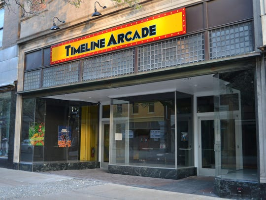 Timeline Arcade will open at 54 W. Market St. in York on April 15.